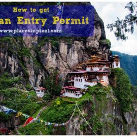 Bhutan entry permit for Indian citizen