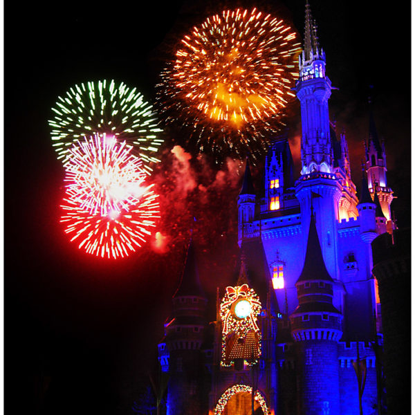 Fireworks to end the Day !