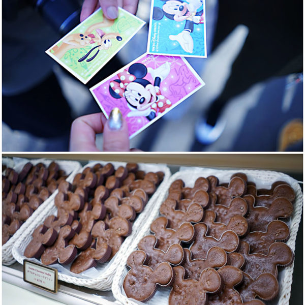 Everything has some Disney stamp on it, be it tickets or sweets!