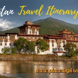 Bhutan Travel Itinerary and Inspiration