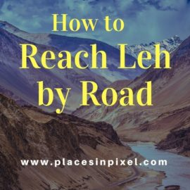 How to Reach Leh by Road