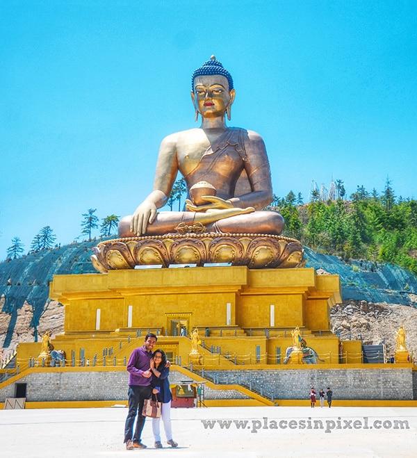 Thimphu Buddha point Bhutan travel guide