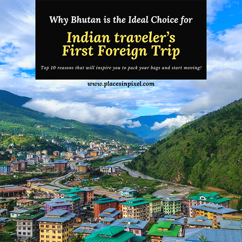 bhutan first foreign trip