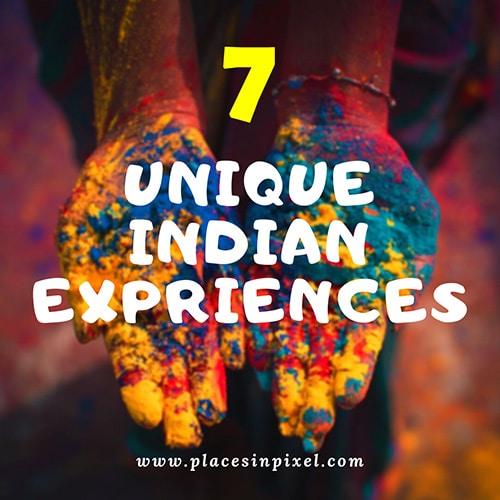 Unique Indian Experiences