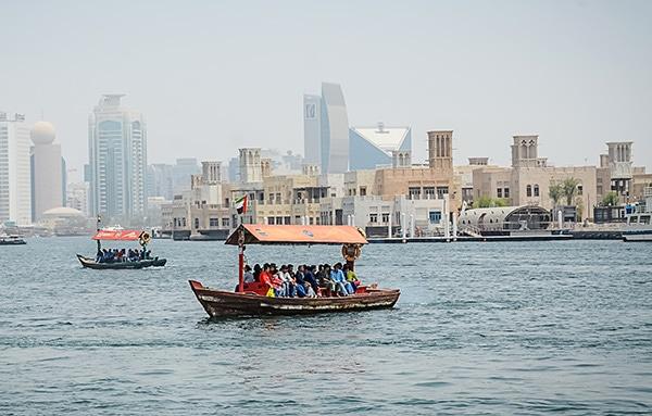 Dubai Creek abra ride
