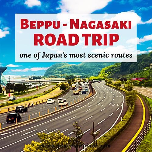 beppu nagasaki road trip