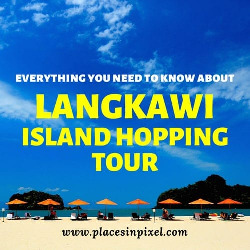 Island hopping in Langkawi