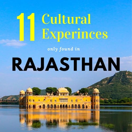 unique cultural experience rajasthan