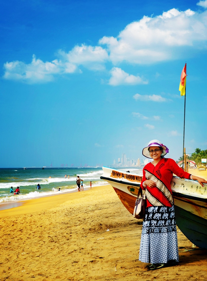 Galle Face beach colombo